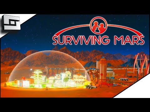 Starving Colonists! Surviving Mars Gameplay! E3