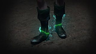 Path of Exile - Ghostflame Boots