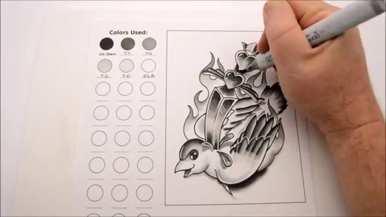 Traditional Tattoo Line Drawing : Vector black roses tattoo design traditional stock