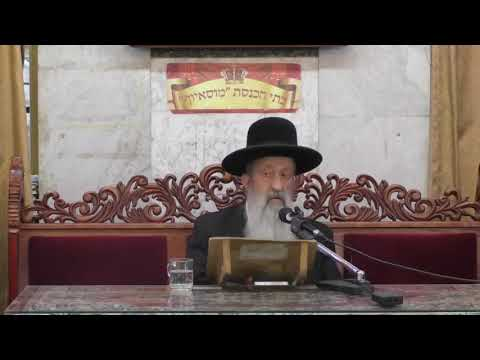 הרב בן ציון מוצפי הרצאה ברמה גבוהה על הלכות ט באב סגנון מיוחד מומלץ בחום למי של מכיר