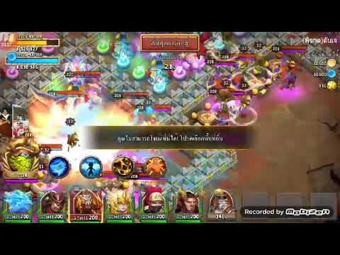 Castle Clash Insane Dungeon 8-10 3 Flame 😎😎