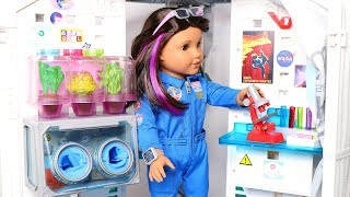 American Girl Doll Luciana's Mars Habitat toy set review!
