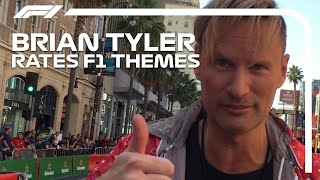 Brian Tyler Rates F1 Theme Covers!