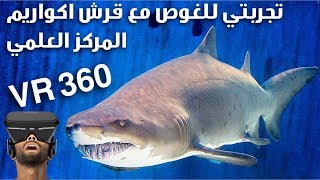 اكسر خوفك وجرب الغوص مع القرش  || 360  Break your fear and dive with Sharks by VR VIDEO
