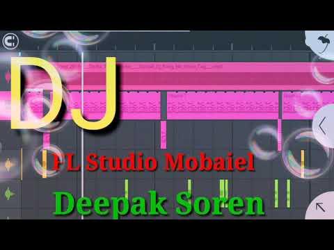 New Santali Dj || Tanha Tanha Dular || #Dj_Deepak_Soren || FL Studio Mobile ||