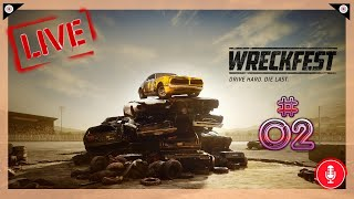 Wreckfest (PC) 🎲 02 - A Second Look at Wreckfest... Trying NOT to PMSL