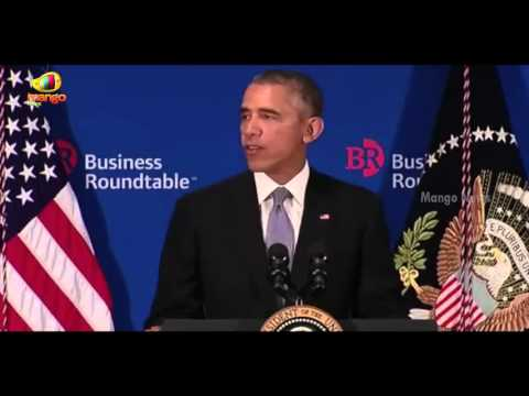 Barack Obama Speech | Pacific Trade Deal To Be Wrapped Up This Year | Business Rountable
