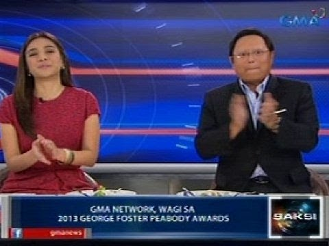 Saksi: GMA Network, wagi sa George Foster Peabody awards