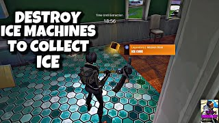DESTROY ICE MACHINES, FREEZERS TO COLLECT ICE| MAKE THAT COLD DRINK| FORTNITE SAVE THE WORLD