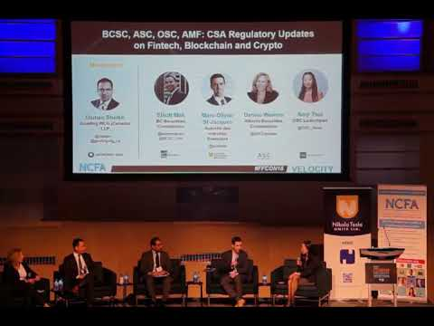 FFCON18: CSA regulatory updates on fintech, blockchain, and crypto
