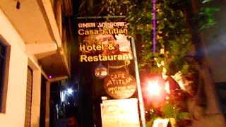 SAN PEDRO, Guatemala Mystical Night Scene & Nightlife (Lake Atitlan)
