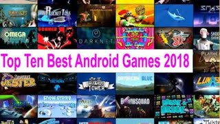 Top 10 New Android Games 2018 ||High Graphics||