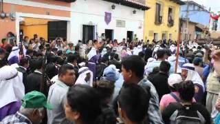 Saeta Dedicada a Jesus de la Merced, Viernes Santo 2015 Antigua Guatemla.