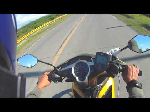 Thumbnail: stock yamaha 135LC 5 speed with RPM reading