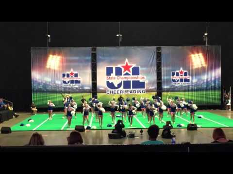 THS Cheer Finals @ UiL State Cheer Competition 2016
