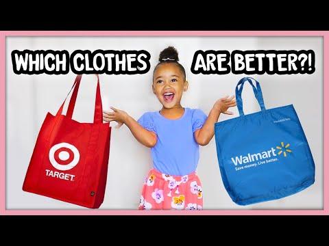 Ziya's Clothing Haul! (Walmart vs. Target!)