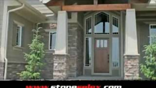 Exterior Stone Siding - Stone Wall Designs By Stone Selex - Toronto Ottawa Hamilton London.mp4