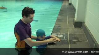 uSwim, level 1, skill 6 - Safety Basics how to teach.flv