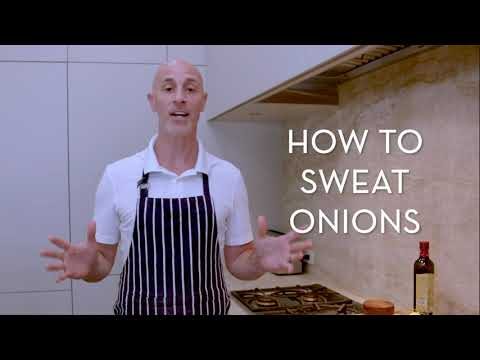 How to sweat onions