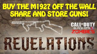 How to Unlock Weapon Table & M1927 Wall Buy(This is a guide on how to unlock the Weapon Table in Nacht area as well as the M1927 Tommy Gun wall buy location in Der Eisendrache area of the Black Ops ..., 2016-09-08T17:47:15.000Z)