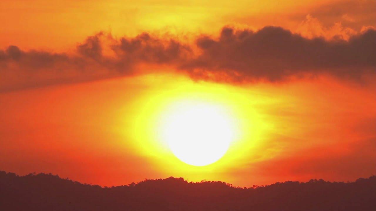 Guten Morgen Sonnenaufgang Schöner Musik