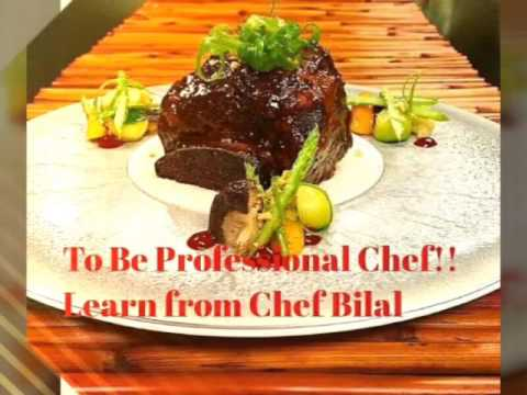 Celebrity Chef bilal Jamal Eddine world food