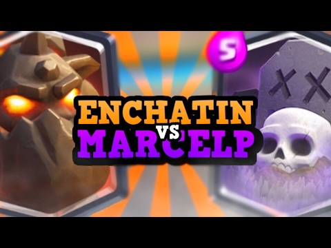 "PRO VS PRO :: Marcelp vs Enchatin :: ""GOING FOR THE RECORD"" in Clash Royale"