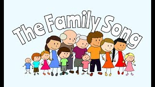 Gambar cover Family Members Song for Kids! - ESL English Learning Song