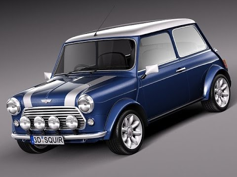 3d model mini cooper s classic 3d model at youtube. Black Bedroom Furniture Sets. Home Design Ideas