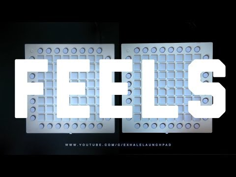 Calvin Harris - Feels // Dual Launchpad iPhone Remix