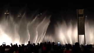 Shik shak shok - Dubai Fountain