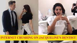 Internet is losing its calm over Jacqueline Fernandez's drool-worthy dentist