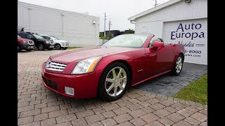 This is Why The Cadillac XLR Worked and the Allante Didn't - Review of the 2004-2009 XLR Roadster
