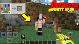 Guantlet Infinity Mod Para Minecraft Pe - Avengers Infinity Wars Mod For MCPE