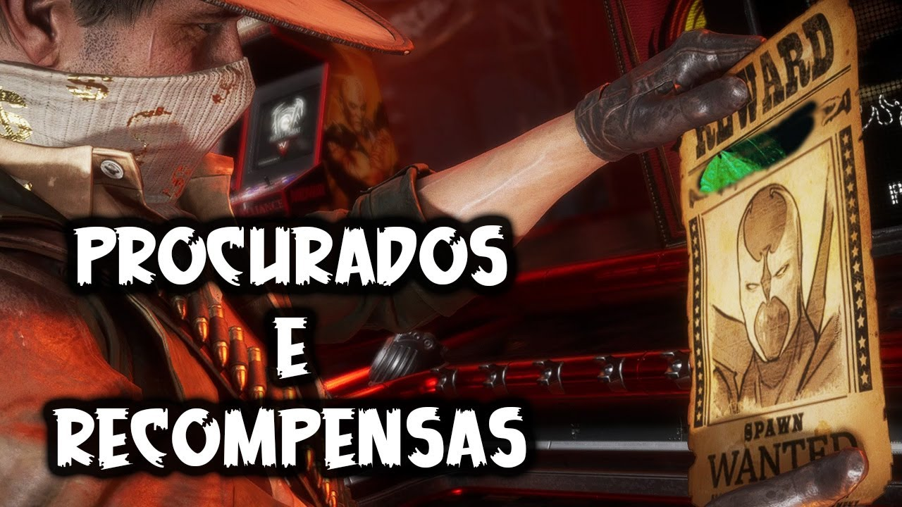 ERRON BLACK - PROCURADOS E RECOMPENSAS MK11