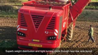 Vervaet Q-series beet harvester launch- Farmers Guide magazine