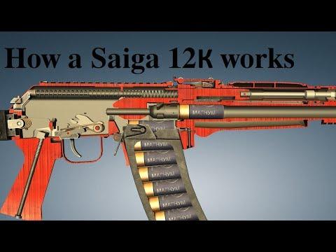How a Saiga 12К(030) works