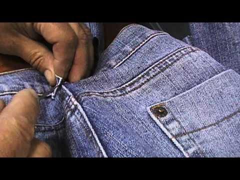 DIY:Испанские эспадрильи из старых джинс  за 40 минут
