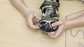 видео тактические сандалии
