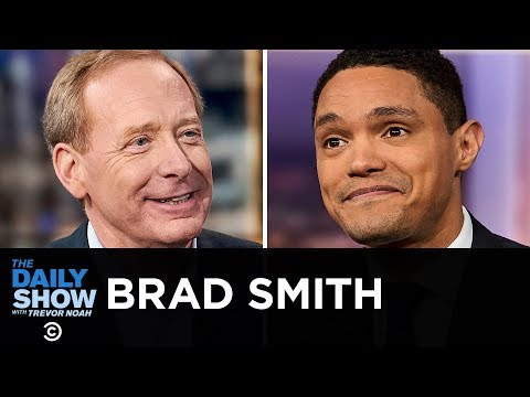 "Brad Smith - ""Tools and Weapons"" in the Digital Age  