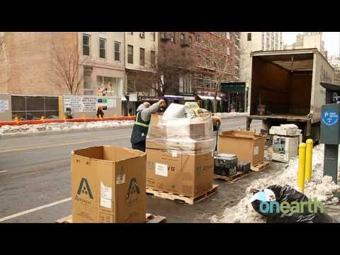 Trashy Technology: E-waste Recycling in New York City