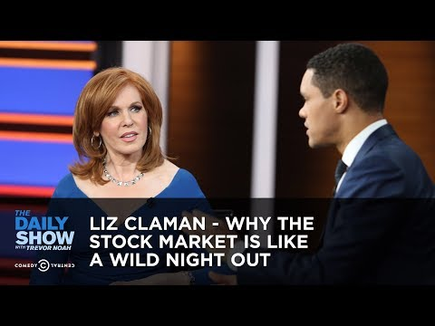 Trevor Noah vs. Liz Claman On Why Stock Market Is Like Wild Night Out