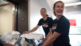 Houston Volleyball: Student Move In