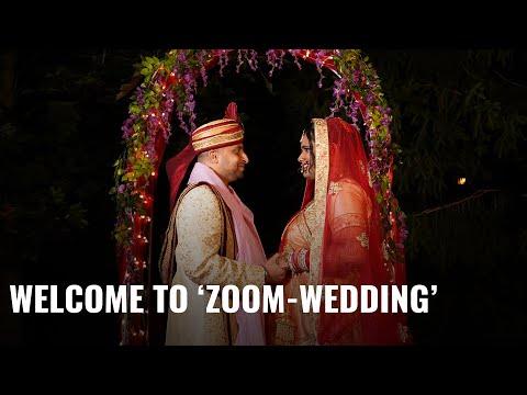 Zoom Made This Couple's Wedding Possible Amid Coronavirus Pandemic