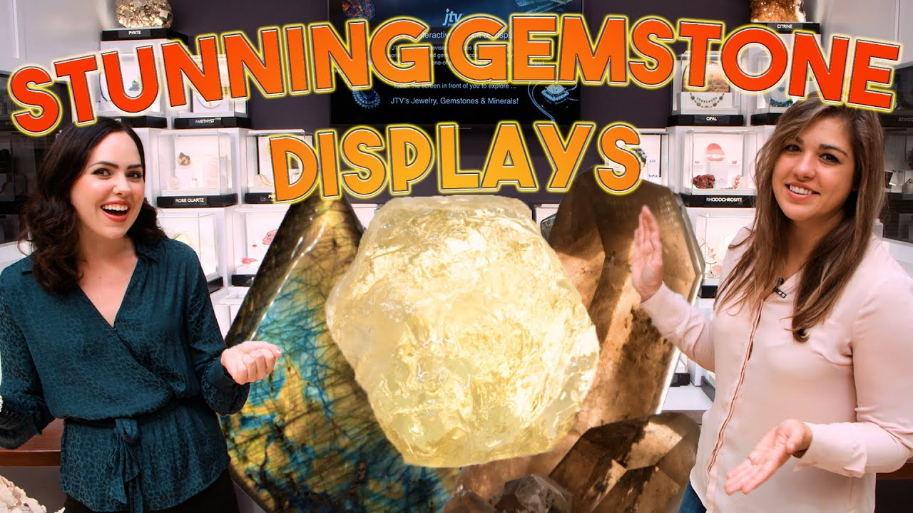 JTV's Illuminating Gemstone Display | Unboxing