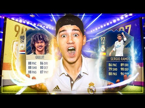 FIFA 18: TOTY + 2 ICONS im PACK OPENING 🔥🔥 DAS GAB ES NOCH NIE!