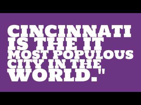 What is the population of Cincinnati?
