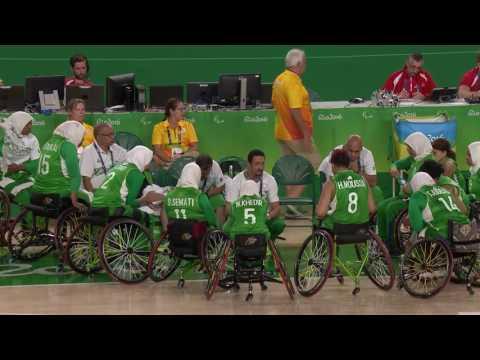 Women's Wheelchair Basketball | USA vs Algeria Group B Preliminary | 2016 Paralympic Games
