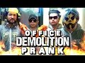 Office Demolition Prank