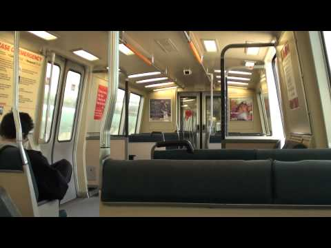 BART From Pittsburg/Bay Point to MacArthur - Full Section Ride (HD)